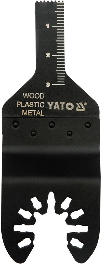 Pilový list na ponor. řezy BIM pro multifunkční nářadí, 10mm (dřevo, plast, kov) YATO