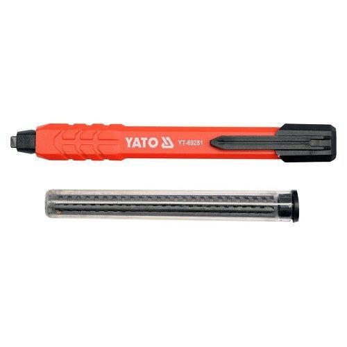Tužka zednická automatická + 5 náhradních náplní, YATO