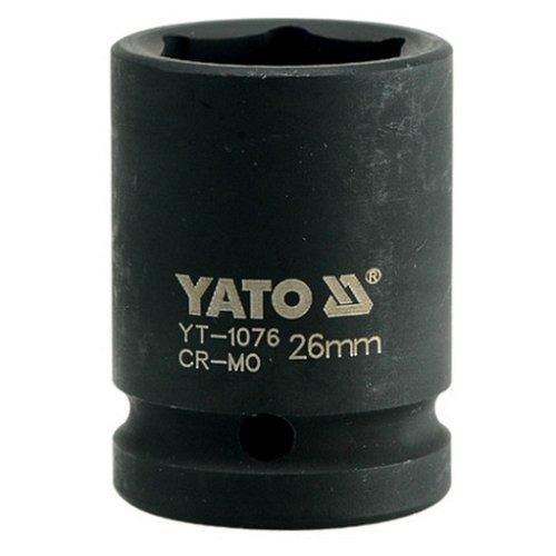 Nástavec 3/4 rázový šestihranný, 26 mm, CrMo, TOYA YATO