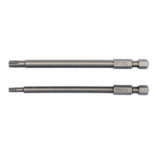 Sada bitů 1/4 2 ks TORX L100 mm T15, T27