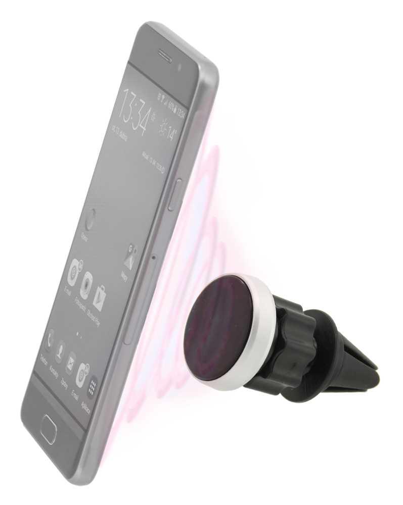 Držák telefonu magnetický do mřížky ROUND