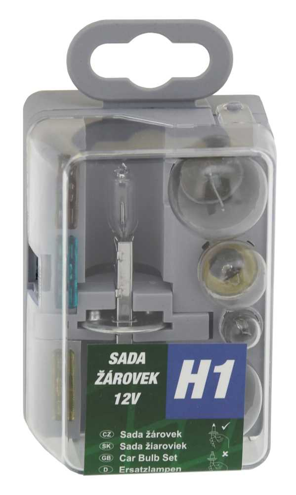 Žárovky servisní box univerzální H1 GREEN