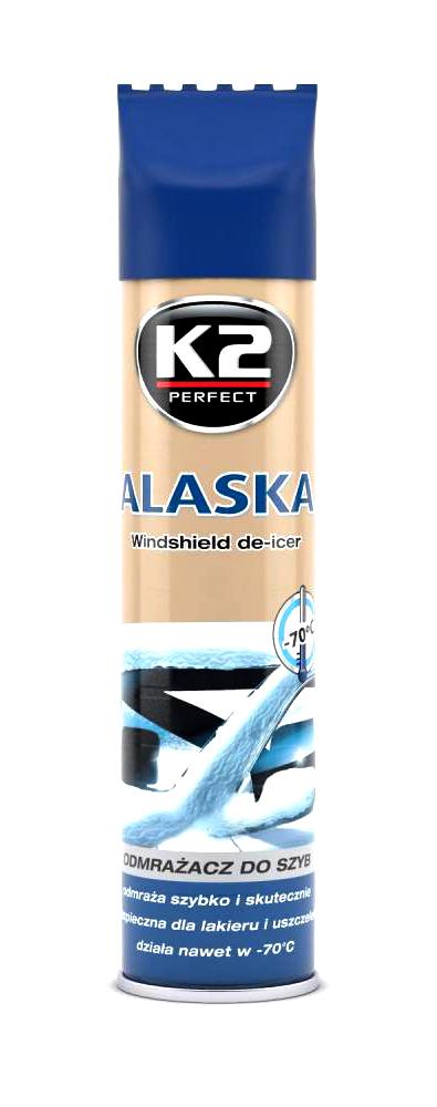 K2 ALASKA FOX 300 ml - rozmrazovač skel