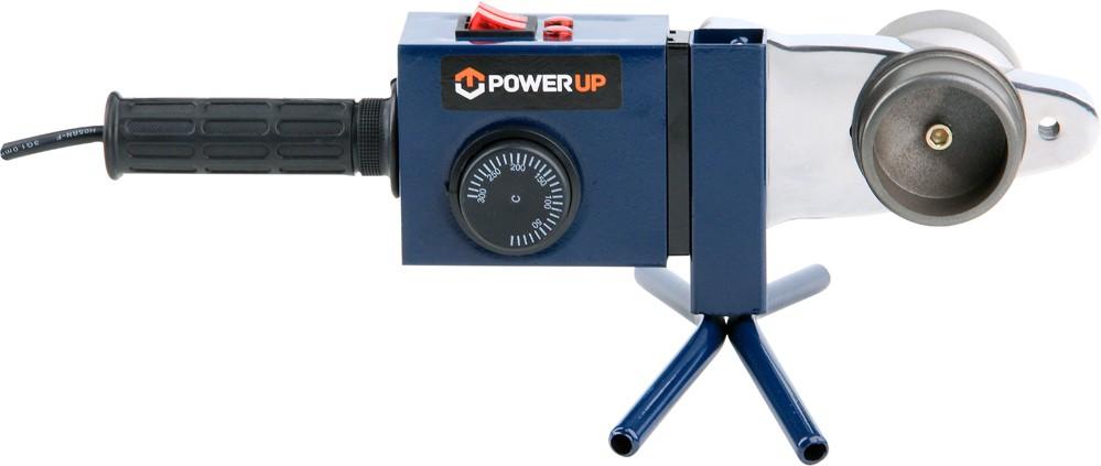 Svářečka polyfúzní na plast. roury 800W/1500W, 0-300°C, POWER UP, 78910 TOYA