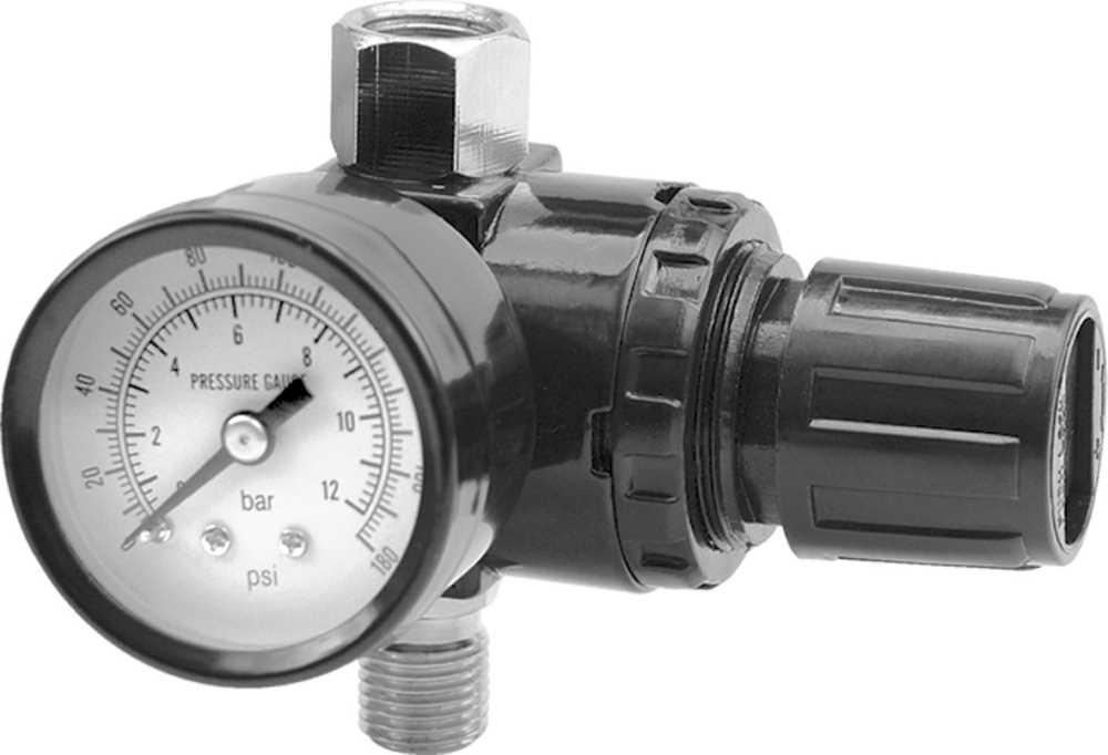 Regulátor tlaku vzduchu 3/8, 0-1MPa