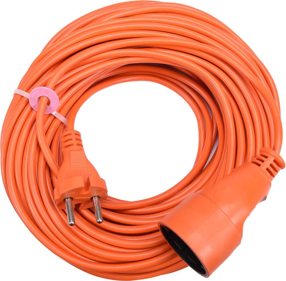Kabel prodlužovací 30 m oranžový