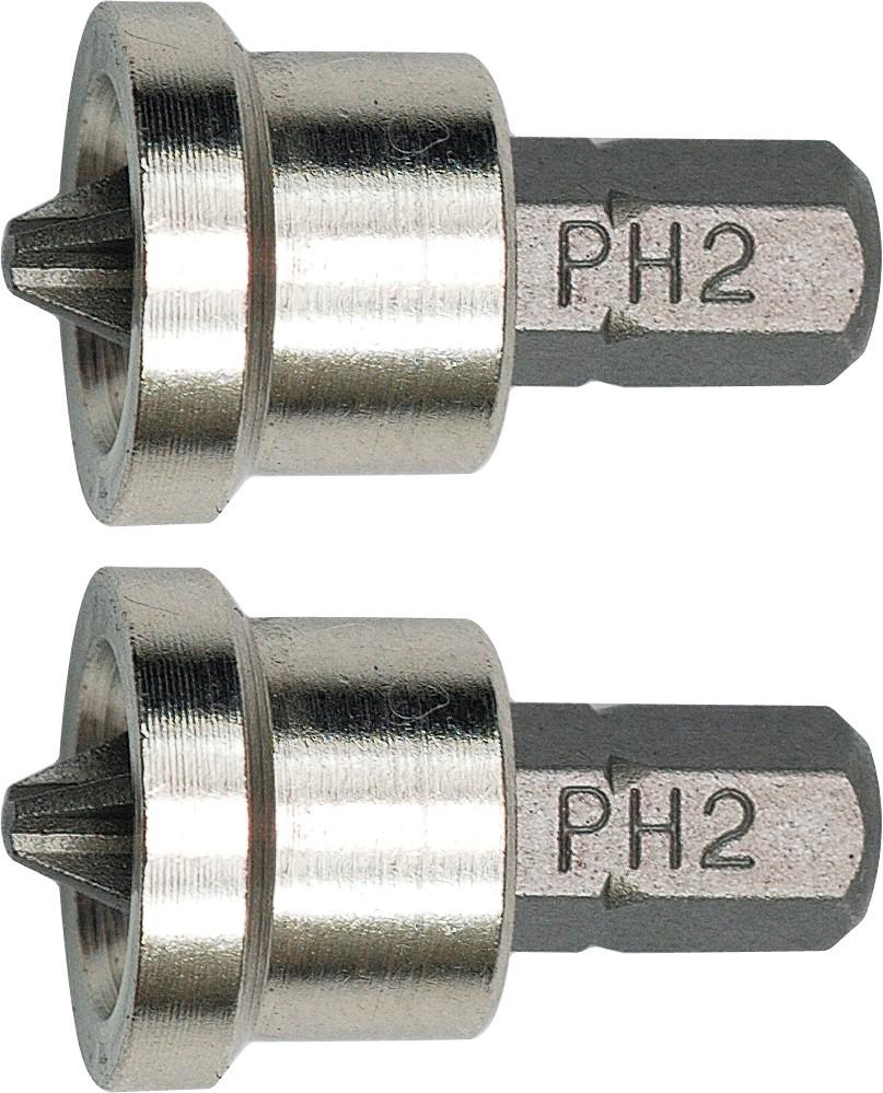 Sada bitů PH2 2 ks do sádrokartonu