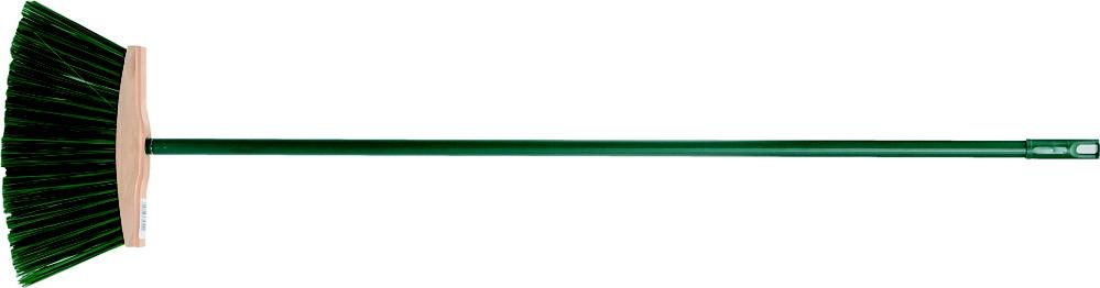Smeták 250 mm PVC dlouhé štětiny s násadou