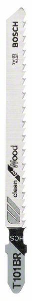 Pilový plátek do kmitací pily T 101 BR - Clean for Wood - 3165140012454 BOSCH
