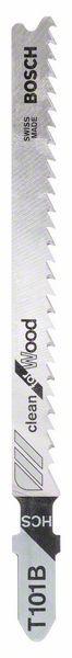 Pilový plátek do kmitací pily T 101 B - Clean for Wood - 3165140006958 BOSCH