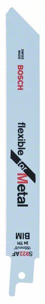 Pilový plátek do pily ocasky S 922 AF - Flexible for Metal - 3165140093491 BOSCH