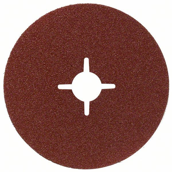Fíbrový brusný kotouč R444, Expert for Metal; 100 x 16 mm, 80 - 3165140185189 BOSCH