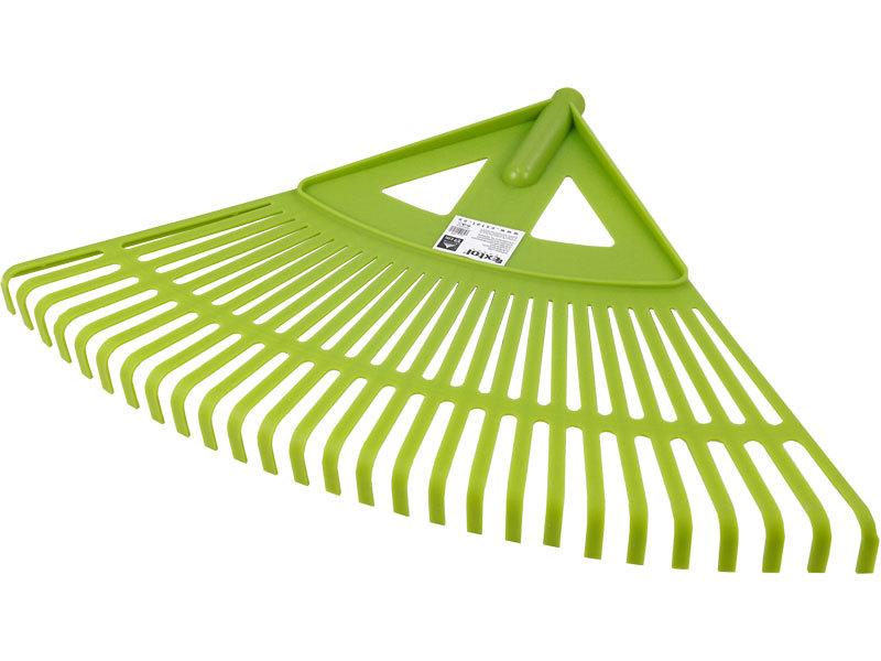 Hrábě zahradnické plastové bez násady, šířka 59cm, vyrobeno z PP, EXTOL CRAFT