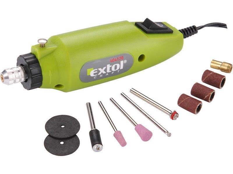 Mini vrtačka/bruska s transformátorem, EXTOL CRAFT, 404120
