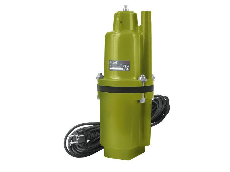 Čerpadlo membránové hlubinné ponorné, 300W, 1400l/hod, 10m, EXTOL CRAFT, 414170