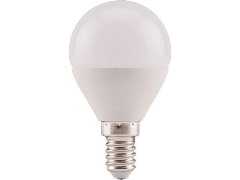 Žárovka LED mini, 5W, 410lm, E14, teplá bílá, EXTOL LIGHT