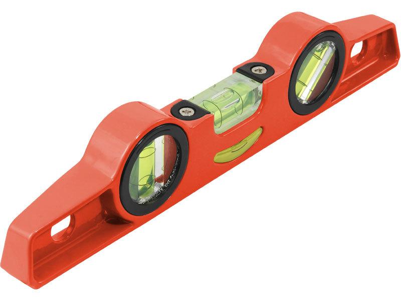 Vodováha kovová s magnety, 250mm, přesnost 1mm/1m, 3 libely 0°, 45° a 90°, EXTOL PREMIUM