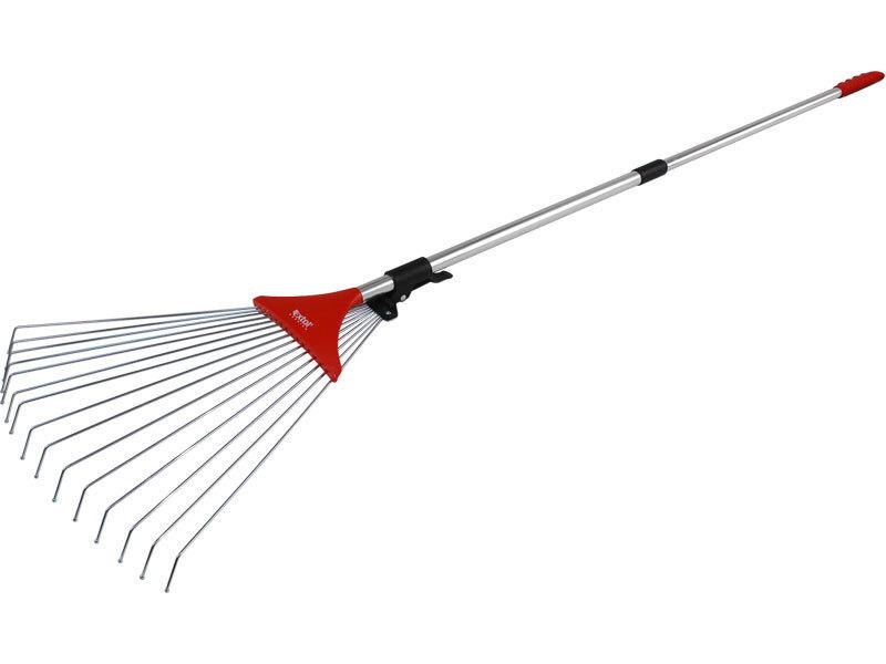 Hrábě nastavitelné s teleskopickou násadou, délka 80-158cm, šířka 18-59cm, EXTOL PREMIUM