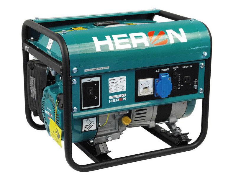 Elektrocentrála benzínová 2,8HP, 1,1kW, HERON, EG 11 IMR, 8896109, záruka 3 roky