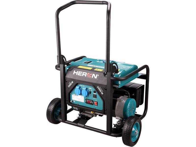 Elektrocentrála benzínová 7,5HP/3,5kW, HERON, 8896140, záruka 3 roky