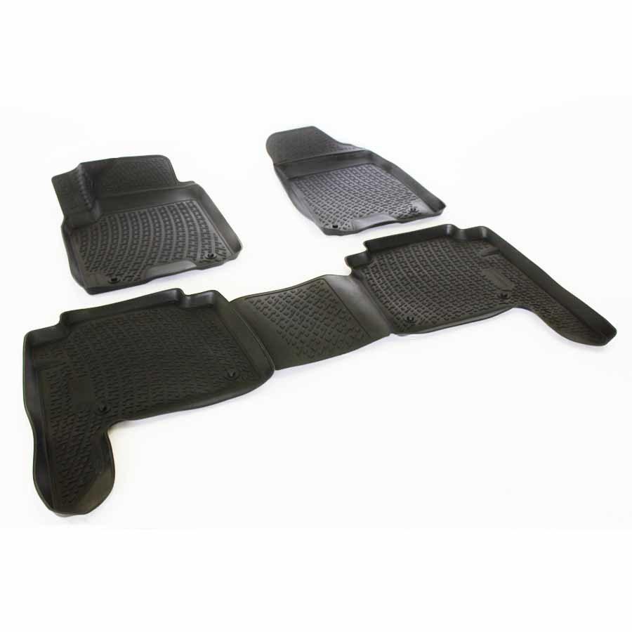 Gumové koberce Nissan Patrol VI (Y62) (10-) (3D) SIXTOL