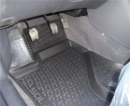 Gumové koberce Volvo S 40 II (04-12) (3D) SIXTOL