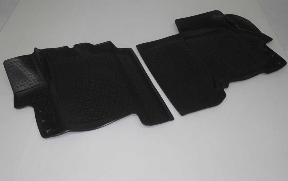Gumové koberce Citroen Jumper (06-) (pouze přední) (3D) SIXTOL