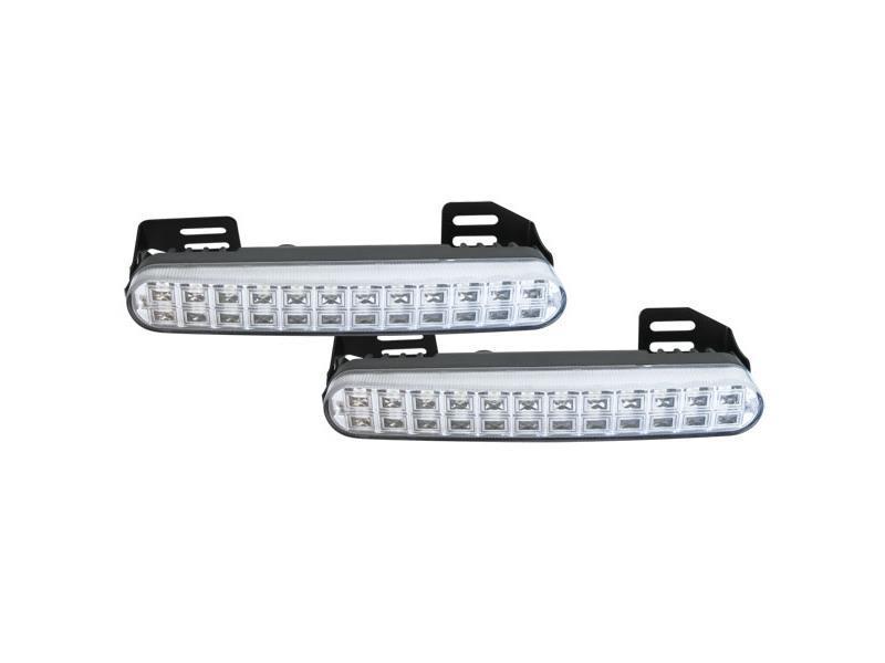 Světla pro denní svícení LED DRL048, homologace TIPA