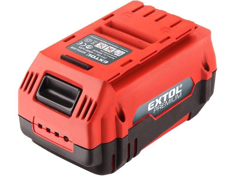 Baterie akumulátorová 25,2V, 4000mAh, EXTOL PREMIUM