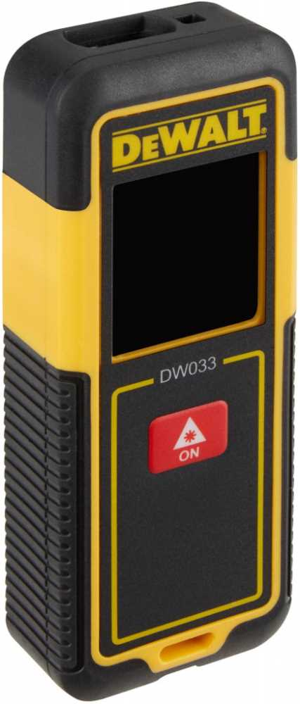 Laserový dálkoměr DeWalt 30m