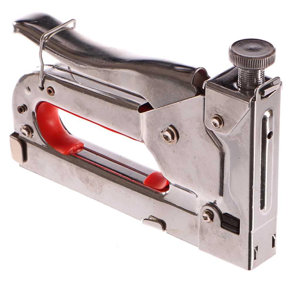 Pistole sponkovací, regulace síly, spony 4-14mm GEKO