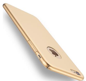 Plastový kryt pro Apple iPhone 7 plus, zlatý SIXTOL