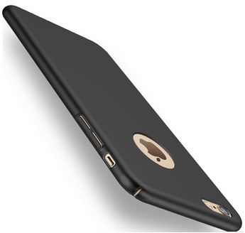 Silikonový kryt pro Apple iPhone 7, černý SIXTOL