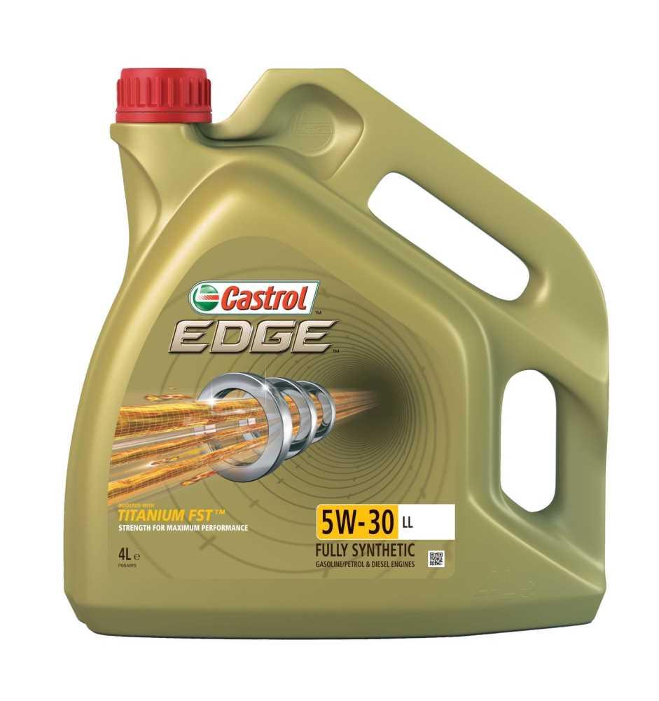 Motorový olej Castrol EDGE 5W30 TITANIUM FST LL 4L