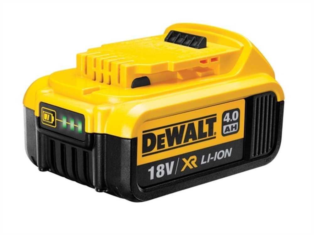 Zásuvný akumulátor 18 V XR Li-Ion 4,0 Ah, DeWalt DCB182