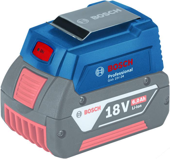 Nabíječka USB GAA 18V-24 Bosch, 1600A00J61