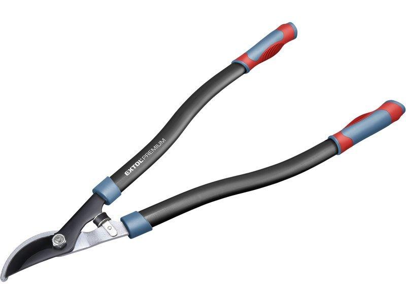 Nůžky na větve dvousečné, 700mm, HCS, na stříhání větví do průměru 35mm, EXTOL PREMIUM