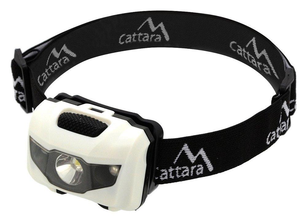 Čelovka LED 80lm bílá, CATTARA