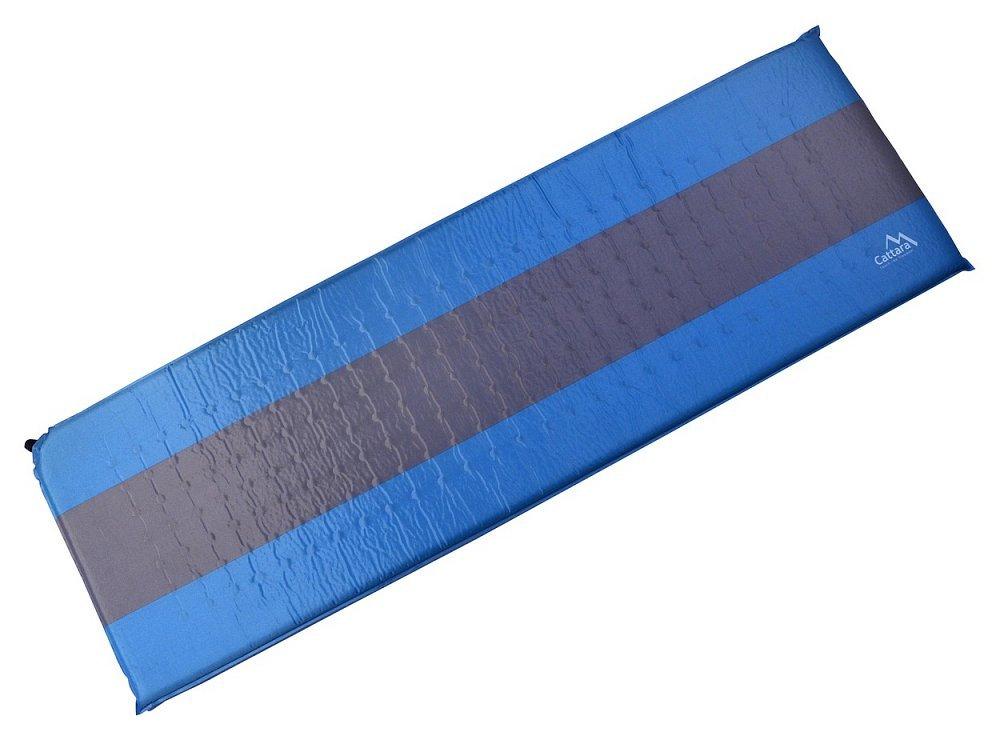 Karimatka samonafukovací 195x60x5cm modro-šedá, CATTARA