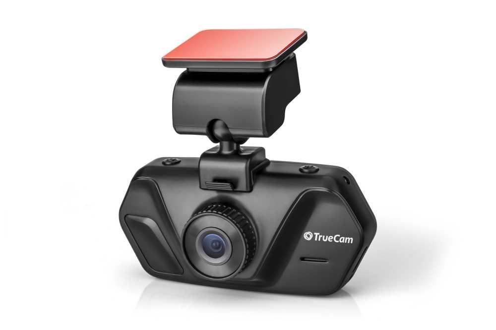 Palubní kamera TrueCam A4, CZ menu