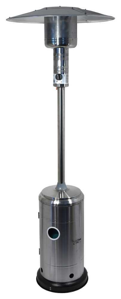 Plynový zářič SILVER s regulátorem, CATTARA