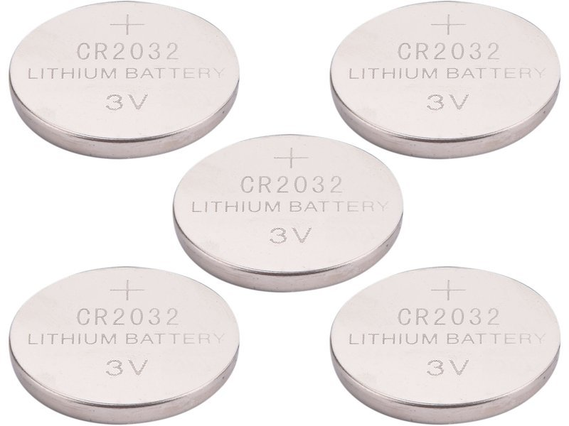 Baterie lithiové, 5ks, 3V (CR2032), EXTOL ENERGY