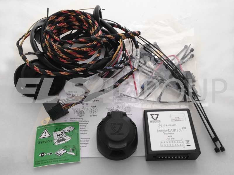 Elektropřípojka MERCEDES Sprinter (W 906) / VW Crafter (LT3) 7pin