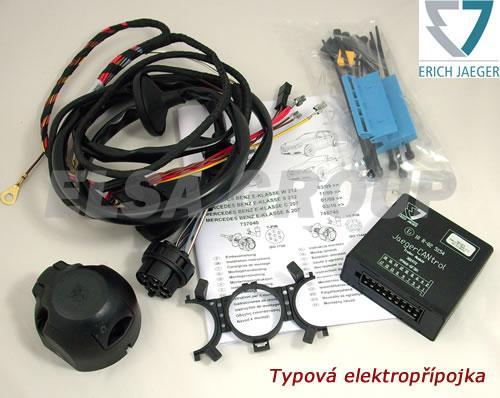 Elektropřípojka Mercedes E (W/S212/C207) / C (W/S204) / GLK (X204) 7pin