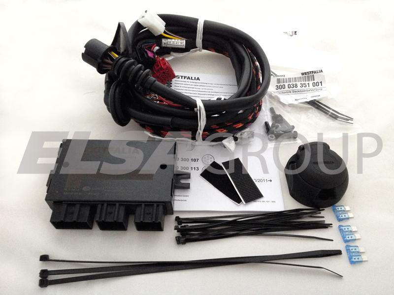 Elektropřípojka Audi Q3 13pin