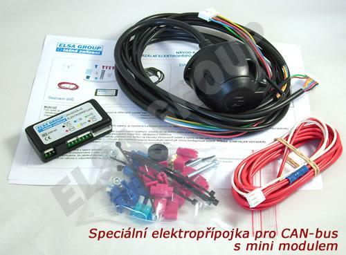 Univerzální elektropřípojka 13pin CC/CAN