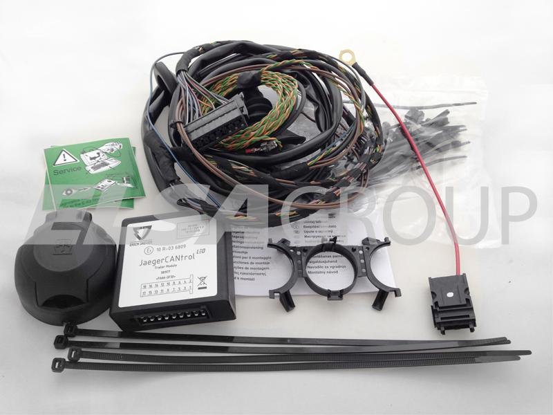 Elektropřípojka BMW 2 řada Gran Tourer (F46) / X1 (F48) / X2 (F39) 7pin