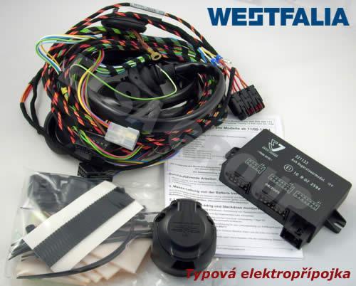 Elektropřípojka VW Transporter T5 / T6 valník s přípravou 13pin