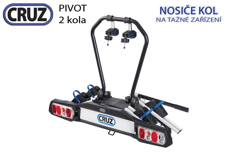 Nosič kol Cruz Pivot - 2 kola, na tažné zařízení