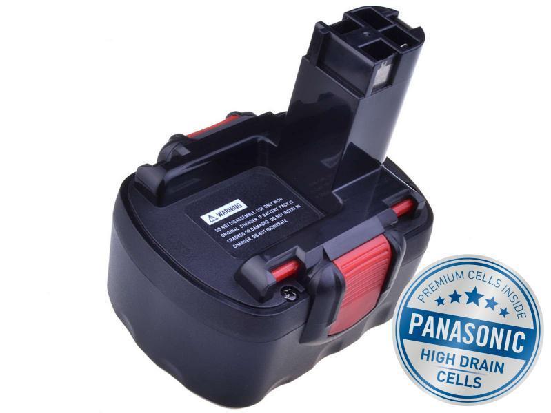 BOSCH PSR 1200 Ni-MH 12V 3000mAh, články PANASONIC